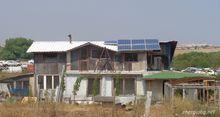 Соларна система върху къща около к-с Меден Рудник, Бургас