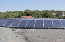 Соларна система за ток Хотел - с.Червена Вода,обл. Русе