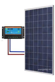 Фотоволтаична /Соларна/ система  за заряд на акумулаторна батерия