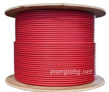 Соларен кабел 1 х 6 мм2 (червен)