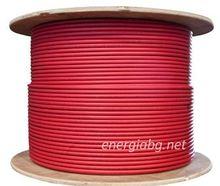 Соларен кабел 1 х 4 мм2 (червен)