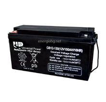 GB AGM-VRLA акумулатор 12V 150Ah