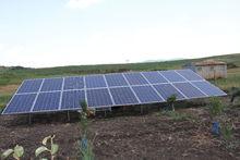 Автономна фотоволтаична система за ток с инсталирана мощност 5250Wp. с. Малък Манастир