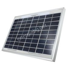 Соларен фотоволтаичен панел 10Wp + Стабилизатор