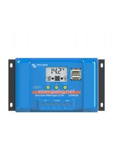 Соларен контролер Blue Solar PWM-LCD+USB 12/24V - 5A