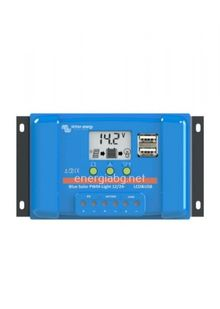 Соларен контролер Blue Solar PWM-LCD+USB 12/24V - 10A