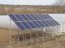 Хибридна фотоволтаична система за ток с инсталирана мощност 4950Wp. с. Стефан Караджово